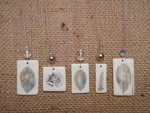 Ceramic Wire Necklaces